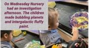 Space Adventures in Nursery